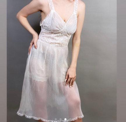 Midnight Stroll Lace Slip Dress