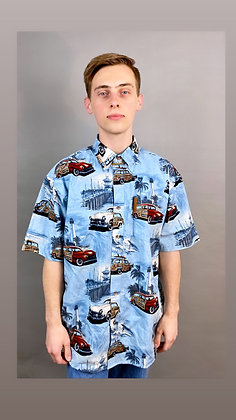 Vintage Car Resort Button up