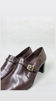 Wicked Brown Heeled Shoe