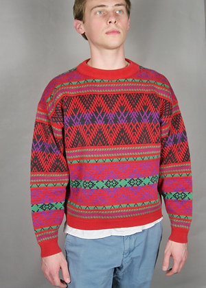 Aztec Warm Sweater