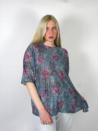 Blue Rose Shirt