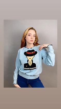 3-D Madam Sweatshirt