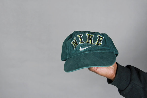 Green Texture Nike Hat