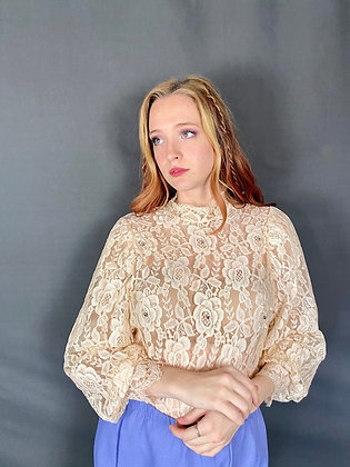 Tea Party Lace Blouse