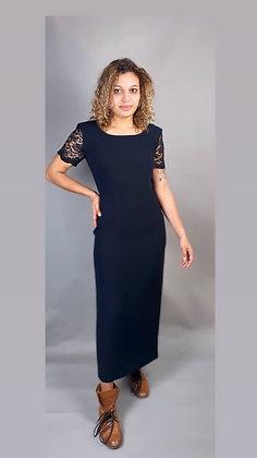 Black Formal Lady Dress