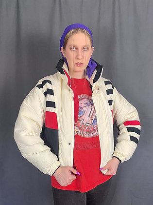 80's Stripe Ski Jacket