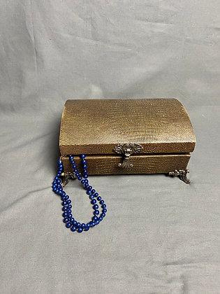 Deep Blue Double Necklace