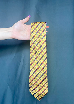Yellow Chain Link Tie