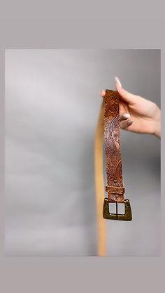Brown Design Belt