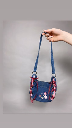 Jordache Girl Denim Mini Purse