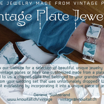 Vintage Plate Jewelry