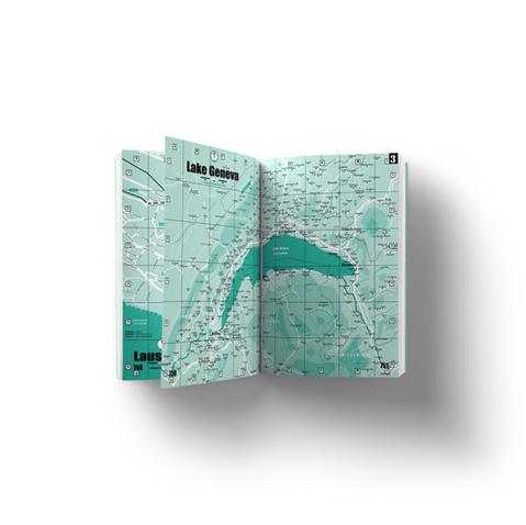 Maps of Geneva, Lausanne, Lake Geneva area, Cantons of Geneva and Vaud, Switzerland