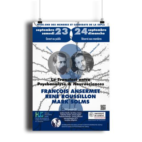 Affiche pour Le Transfert entre Psychanalyse & Neurosciences