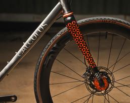 Gravel bike Fork