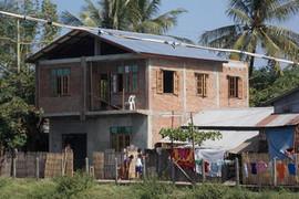 Medical clinic on Sekkyi Island