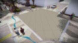 Bradenton Streetscape Rendering