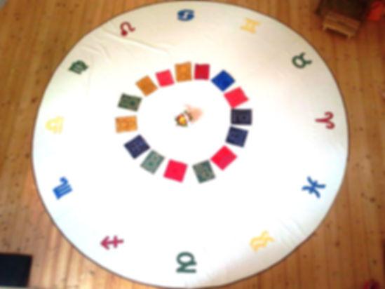 Astro-Teppich für Aufstellungen