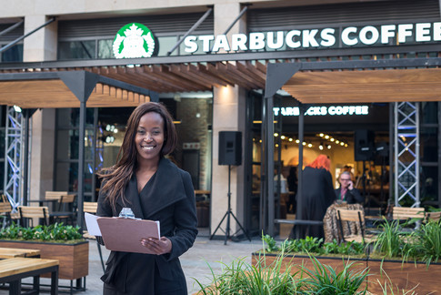 Starbucks Centurion Opening