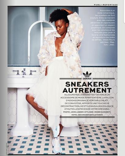 Adidas x Stylist Magazine