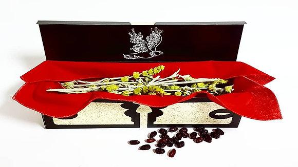 Tirk - Mountain tea accompanied by Cornelian cherries