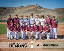 GHS 2016 Baseball V Team lores