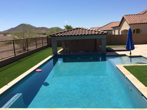 pool builder phoenix arizona pool design