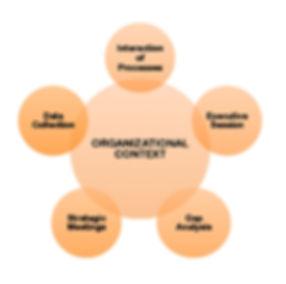 Organizational Gap Analysis; interaction of processes, process improvement