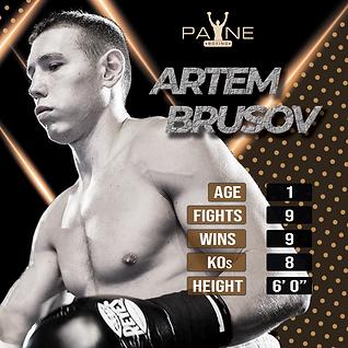 Artem Brusov Payne Boxing