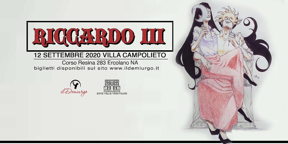 Riccardo III Villa Campolieto