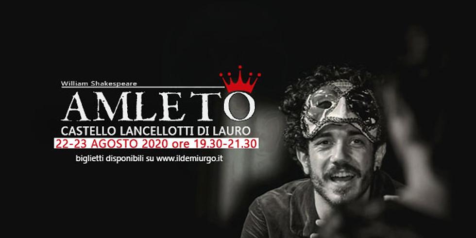 Amleto al Castello Lancellotti di Lauro