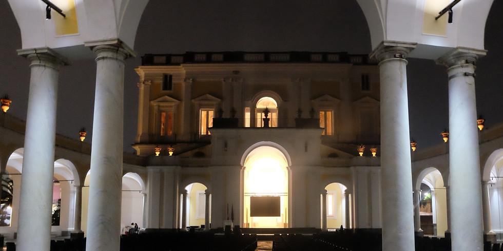 Franceschiello Esedra Villa Campolieto Ercolano