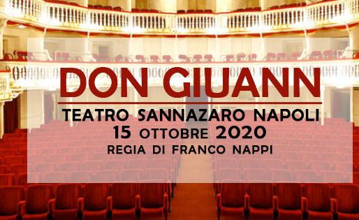 Don Giuann al Teatro Sannazaro