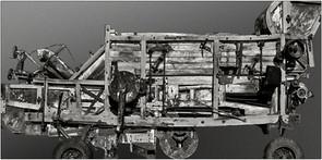 Prähistorischer Mähdrescher  ⸧ | ⸦  Prehistoric combine harvester