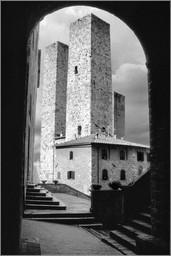 Torri dei Salvucci & Torre Pettini  ⸧ | ⸦  Salvucci & Pettini towers