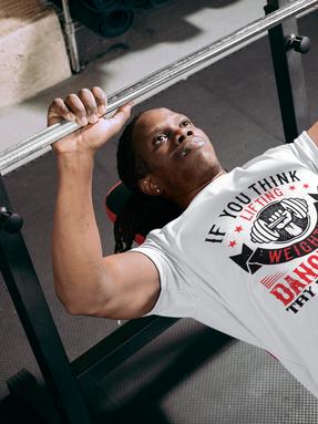 Lifting Weights Gym T-shirt