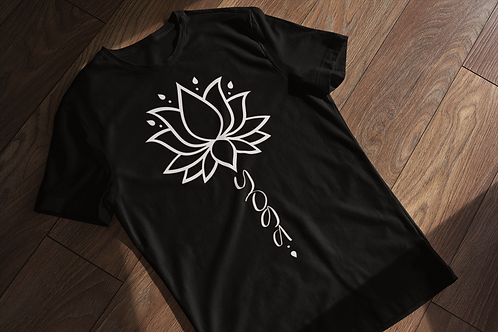 Flower Yoga T-shirt