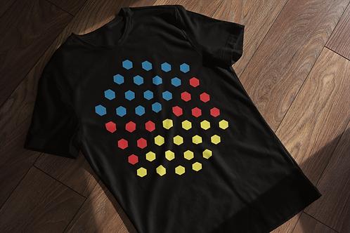Geometric Dots Abstract T-shirt