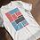 Thumbnail: Bars and Strips Abstract T-shirt