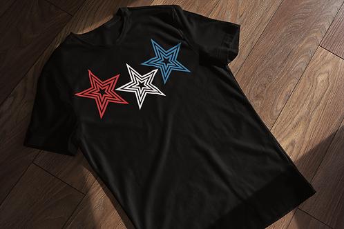 Lucky Stars Abstract T-shirt