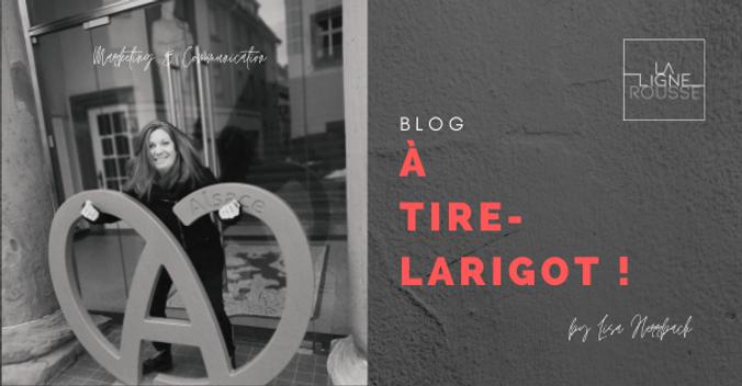Blog à tire-larigot by lisa herrbach billets d'humeur marketing et communication la ligne rousse
