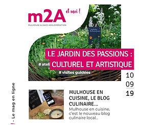 journaliste rédactrice webzine m2a mulhouse agglomeration alsace magazine web communication