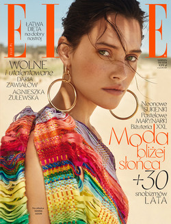 ELLE Poland - COVER - AUGUST ISSUE 2018