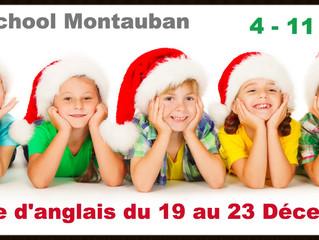 Stage d'anglais - Vacances de Noël