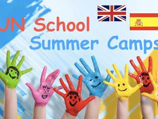 Stage d'anglais ou d'espagnol juillet-août Summer Camps