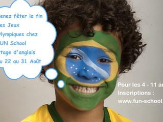 Stages d'anglais du 22 au 31 Août chez FUN School Montauban