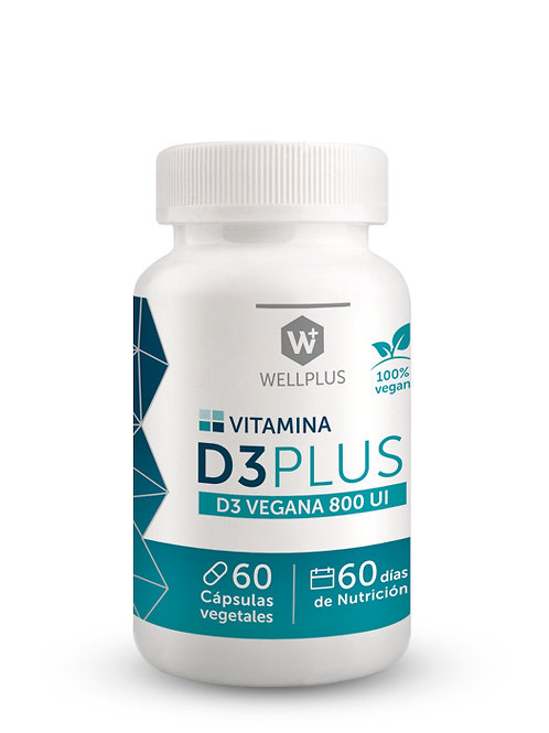 Vitamina D3 PLUS 60 cápsulas