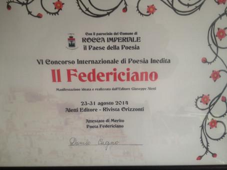 """""""L'addio al mondo"""", presentata al Federiciano 2014"""