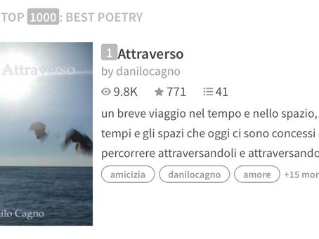 #1 best poetry on wattpad: Attraverso