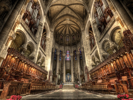"Aris's ""Toccata & Fugue"" to be Performed at the Cathedral of St. John the Divine by Shannon Murphy"