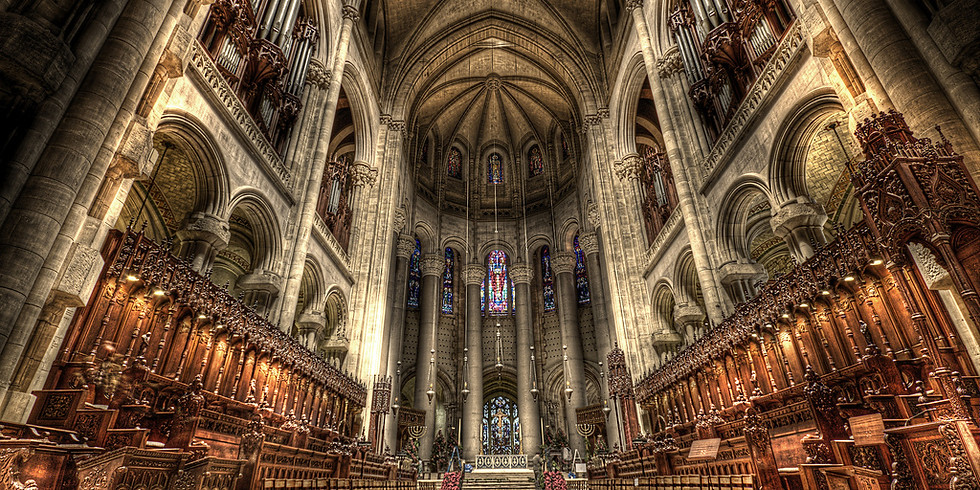 NYC: Cathedral of St. John the Divine - Sunday Organ Concert